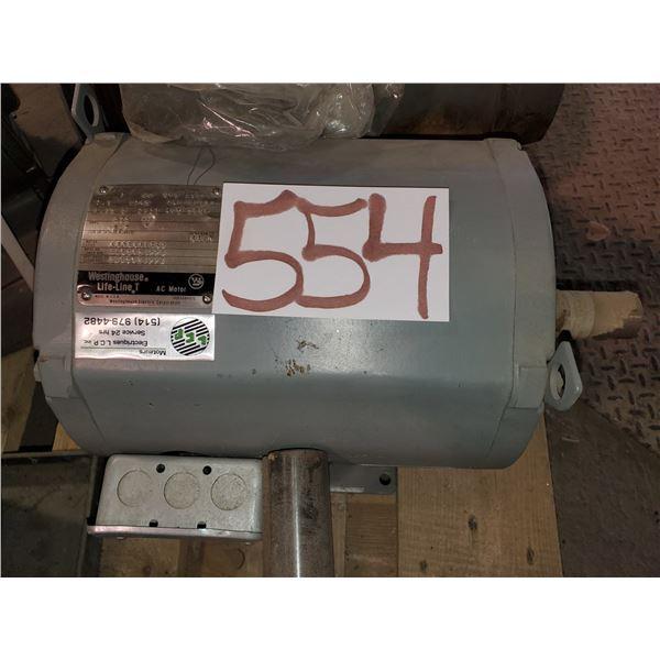 Westinghouse AC Motor 7.5hp