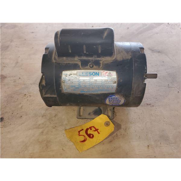 Leeson Electric Motor 1/4hp 115v