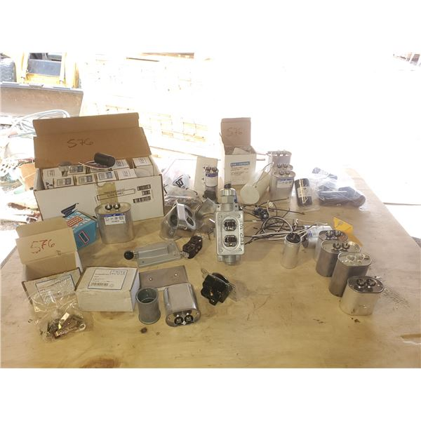 Box of Electric parts