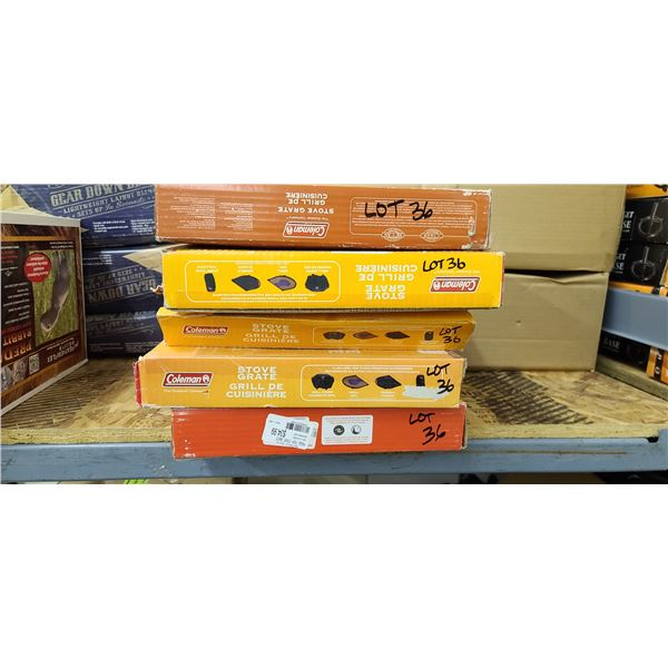 COLEMAN STOVE GRATE QTY 6 TOTAL RETAIL VALUE $210