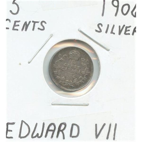 1906 Small Five Cents