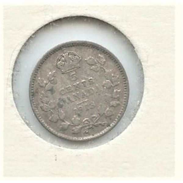 1913 Small Five Cents