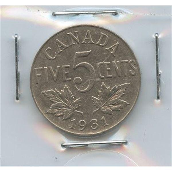 1931 Five Cents