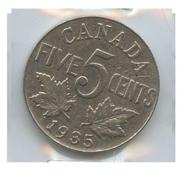 1935 Five Cents