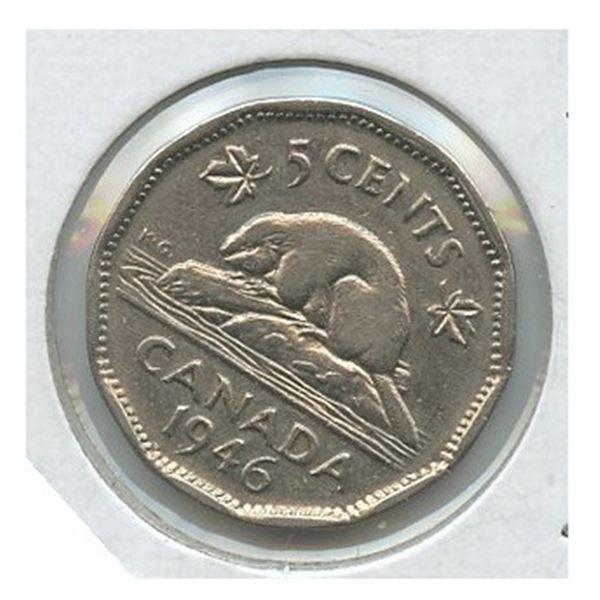 1946 Five Cents