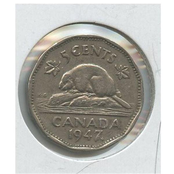 1947 Five Cents