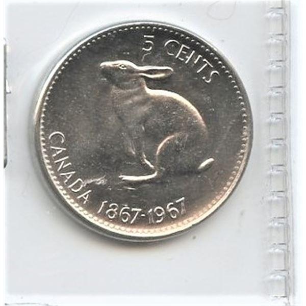 1967 Five Cents