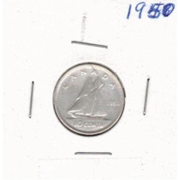 1950 Ten Cents