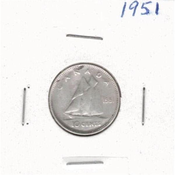 1951 Ten Cents
