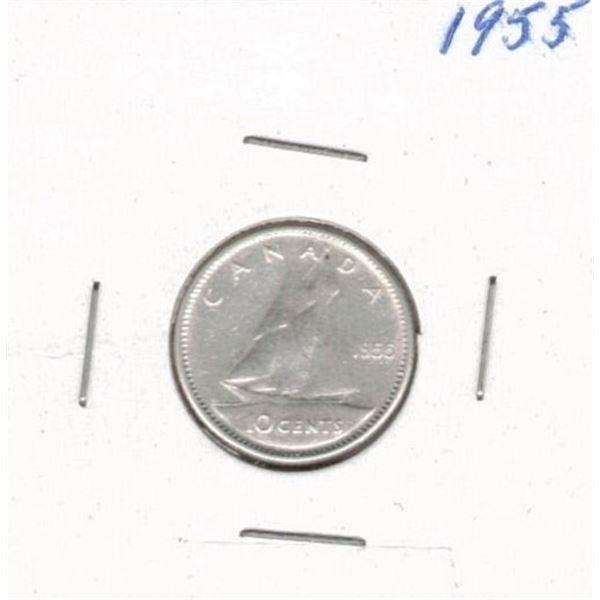 1955 Ten Cents