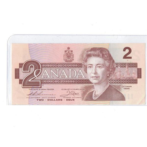1986 $2 Bill AUW5018334
