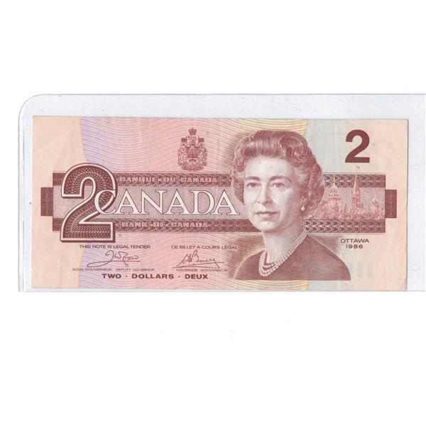 1986 $2 Bill  ARP1270722