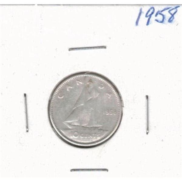 1958 Ten Cents