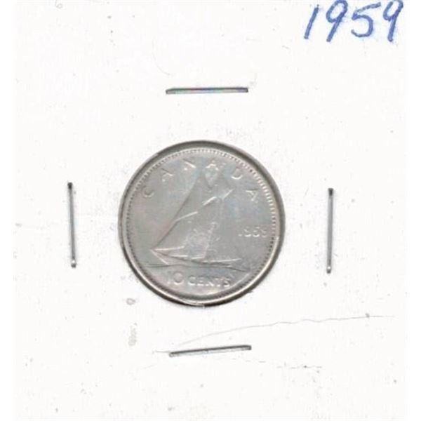 1959 Ten Cents