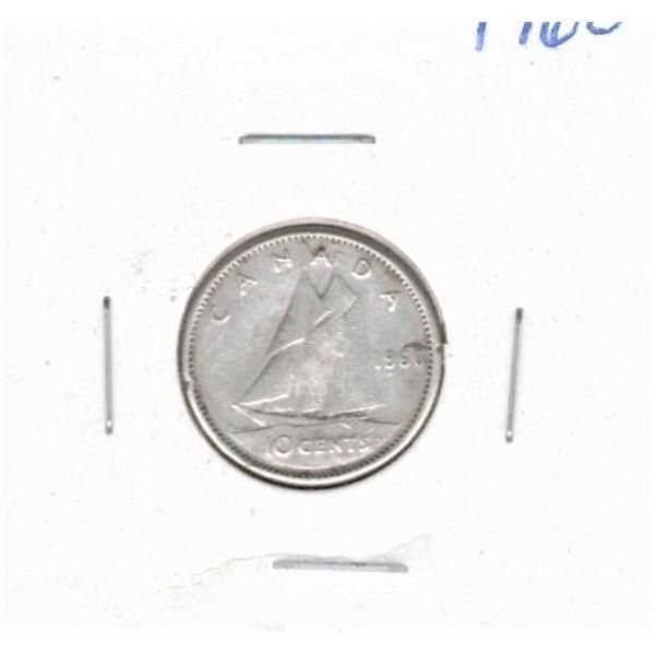 1960 Ten Cents