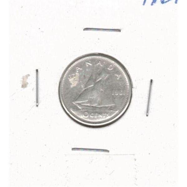 1961 Ten Cents