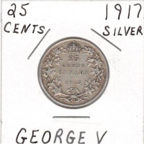 1917 25 Cents
