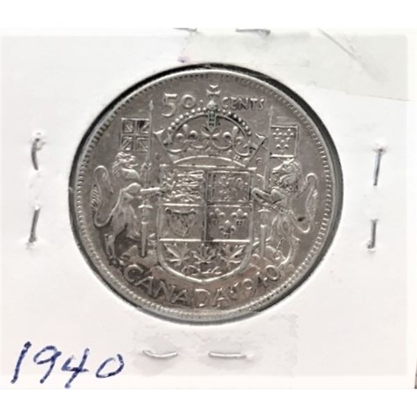 1940  50 Cents