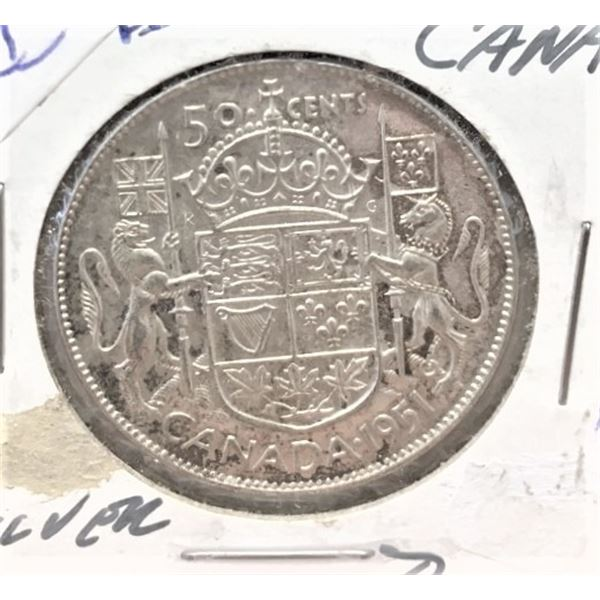 1951  50 Cents