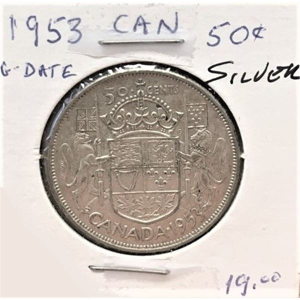 1953  50 Cents