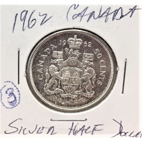 1962  50 Cents