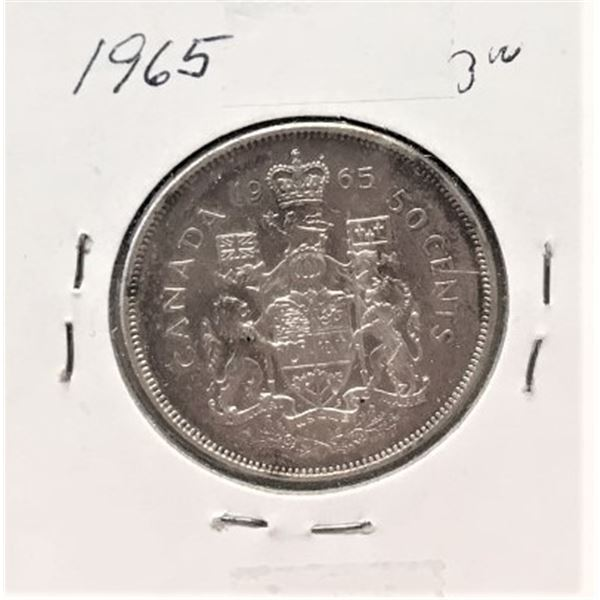 1965  50 Cents