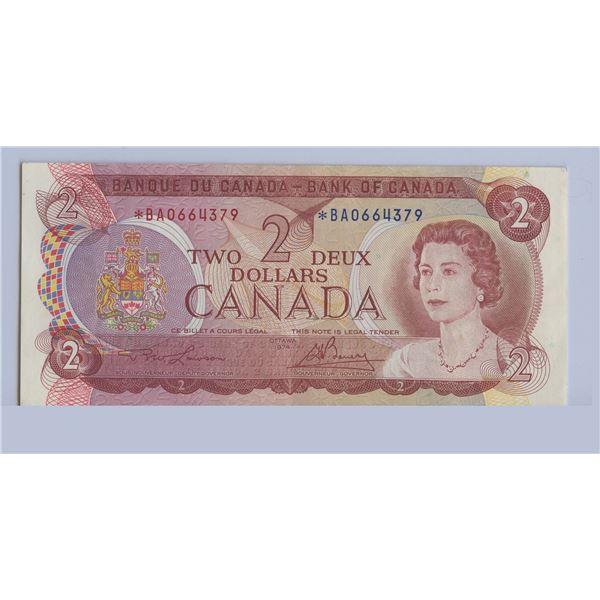 1974 Two Dollar Bill - Replacement Bill *BA0664379