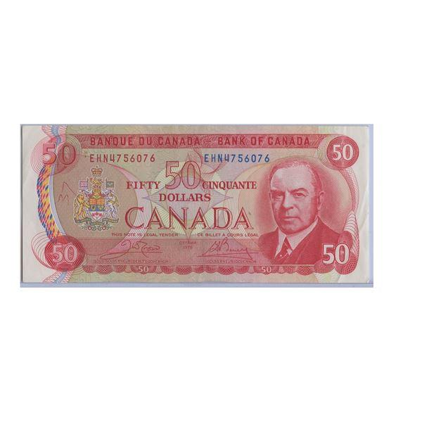 1975 Fifty Dollar Bill EHN4756076