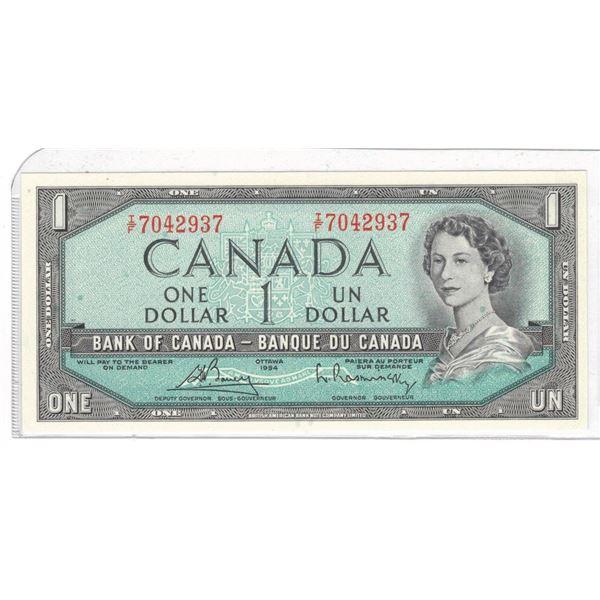 1954 One Dollar IF7042937 Bouey/Raminsky