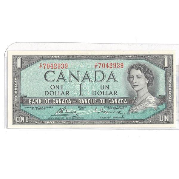 1954 One Dollar IF7042939 Bouey/Raminsky