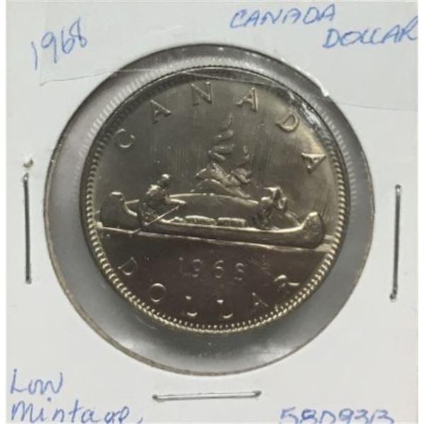 1968 One Dollar Coin