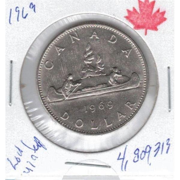 1969 One Dollar Coin
