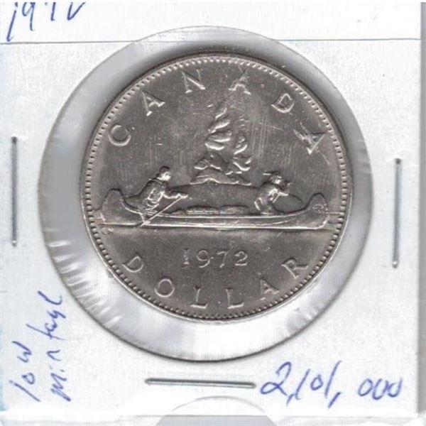 1972 One Dollar Coin