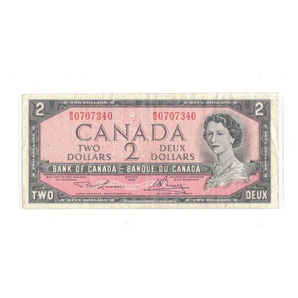 1954 $2 Bill M/G070340