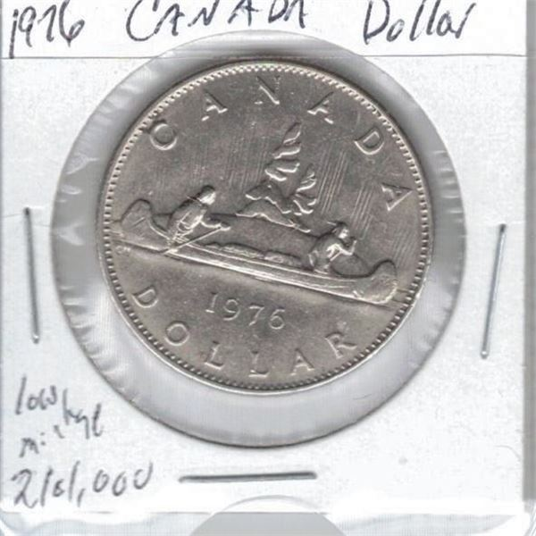 1976 -  One Dollar Coin