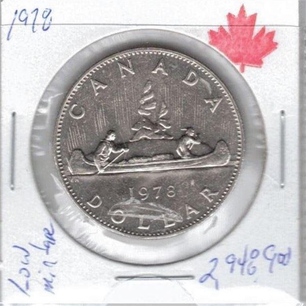 1978 - One Dollar Coin