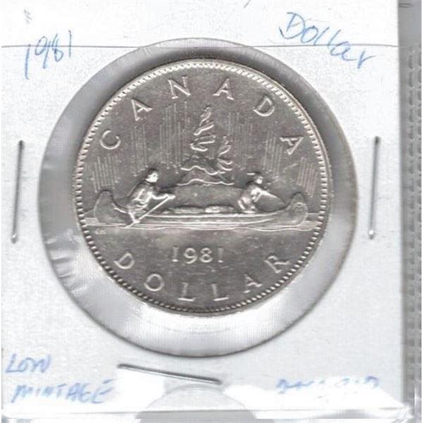 1981 - One Dollar Coin