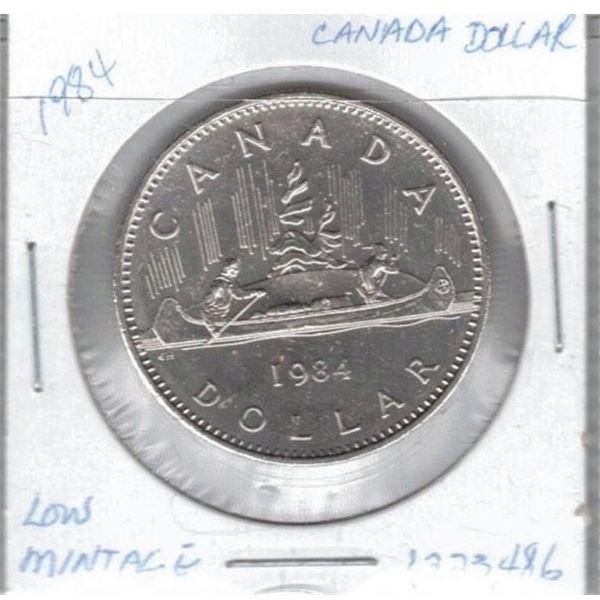 1984 - One Dollar Coin