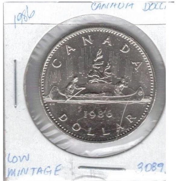 1986 - One Dollar Coin