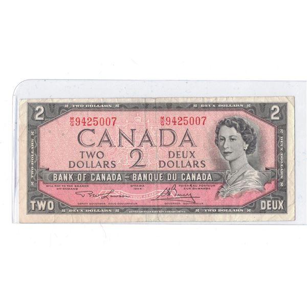 1954 $2 Bill M/G945007