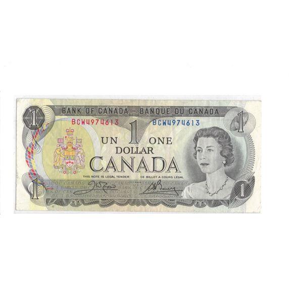 1973 $1 Bill BCW4974613