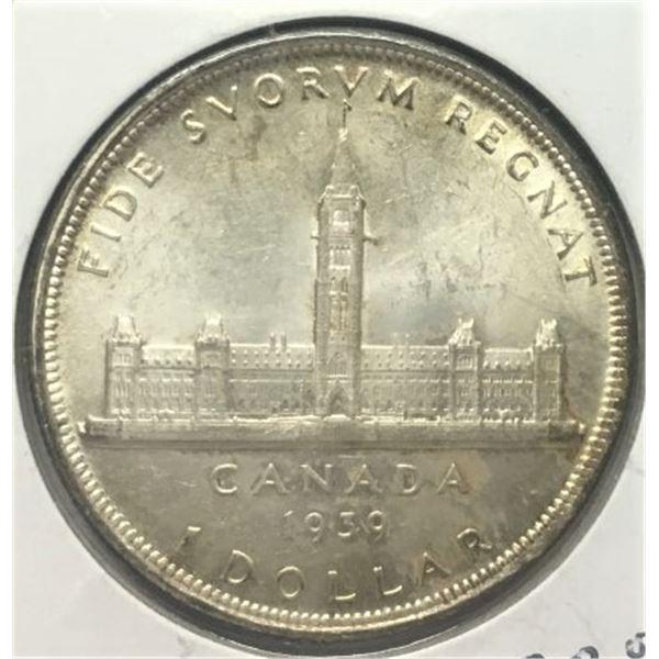 1939 Canadian Dollar - SILVER