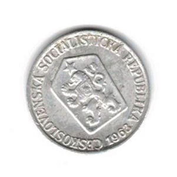 Czechoslovakia 3 Halere coin 1963