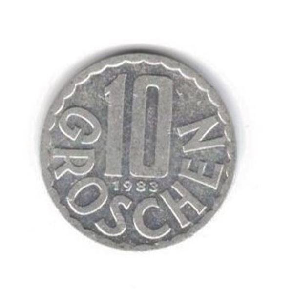 Austria 10 groschen, 1983