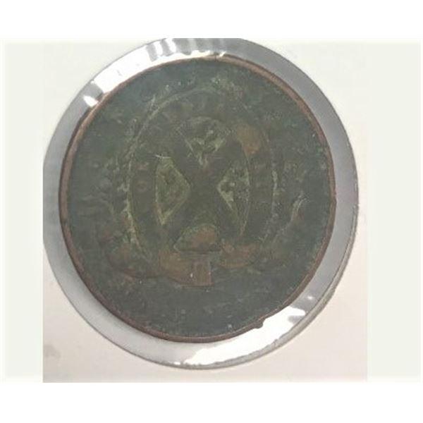 1837 1/2 Penny Quebec City