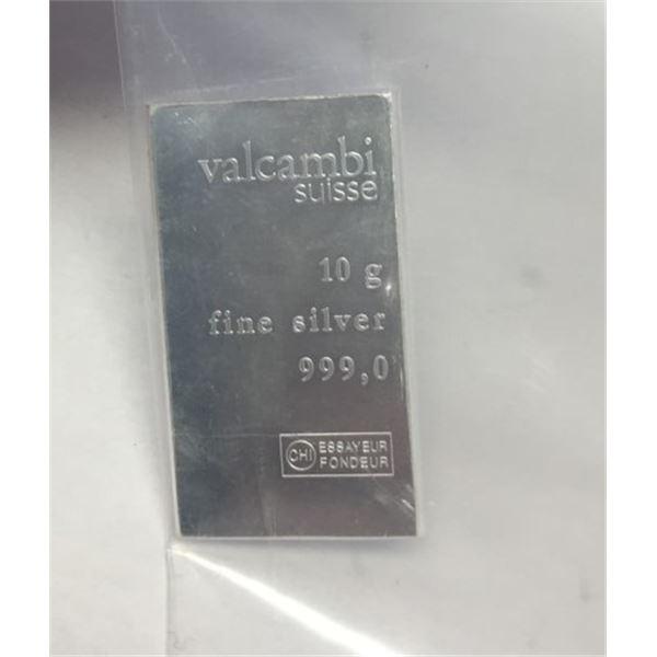 10 g of fine silver   999,0 silver