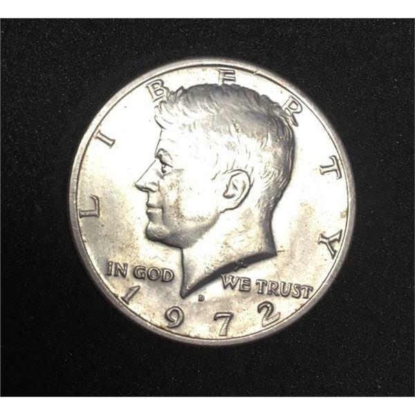 1972 Kennedy D  Half Dollar - USA Coin