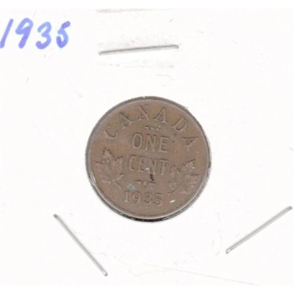 1935 Canadian One Cent