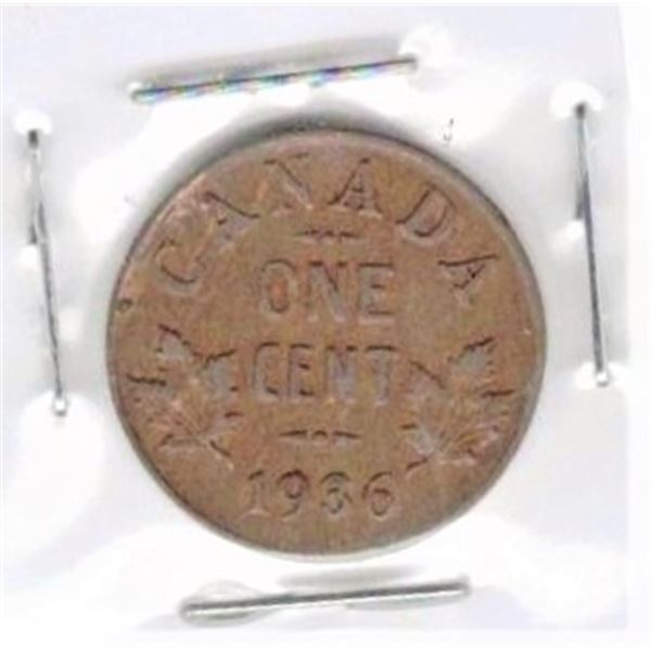 1936 Canadian One Cent