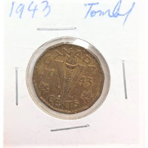 1943 Tombac Nickel